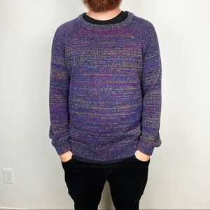 """H&M """"Bill Cosby"""" Knit Sweater Size Large"""